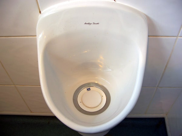 Waterless Free Flowing Urinal Valves